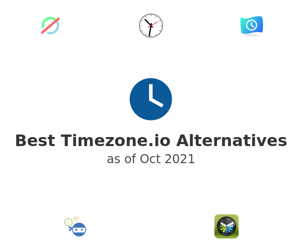 Best Timezone.io Alternatives
