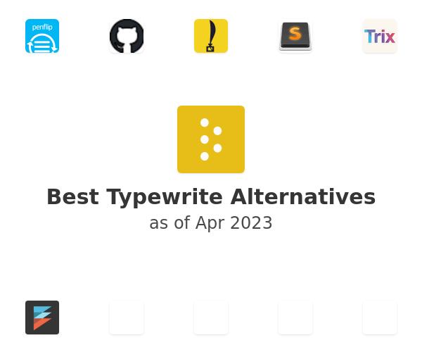 Best Typewrite Alternatives