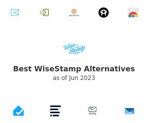 Best WiseStamp Alternatives