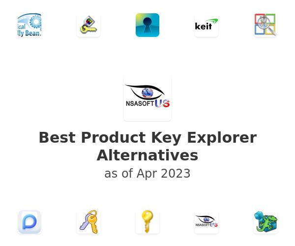 Best Product Key Explorer Alternatives