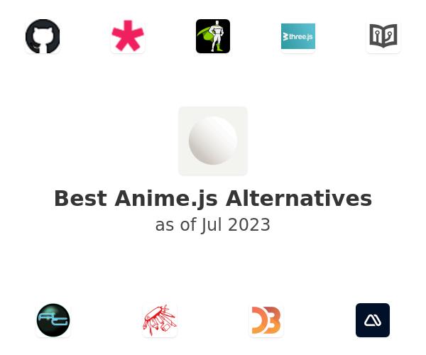Best Anime.js Alternatives