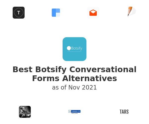Best Botsify Conversational Forms Alternatives