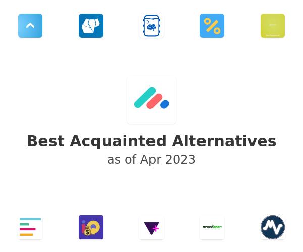 Best Acquainted Alternatives
