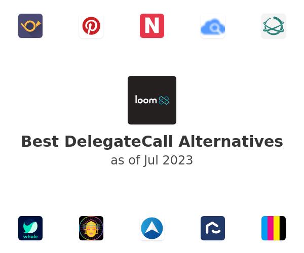 Best DelegateCall Alternatives