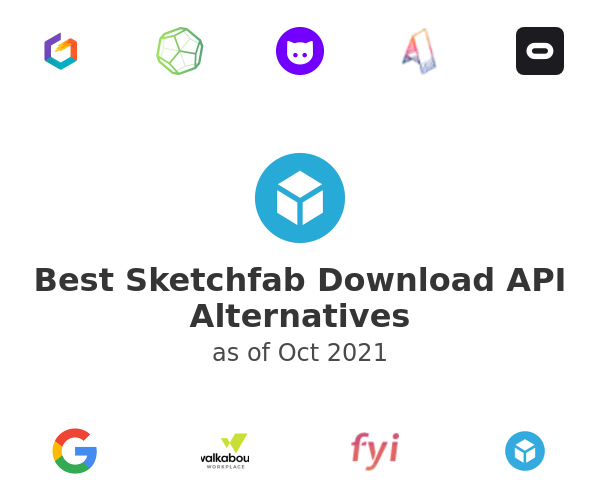 Best Sketchfab Download API Alternatives