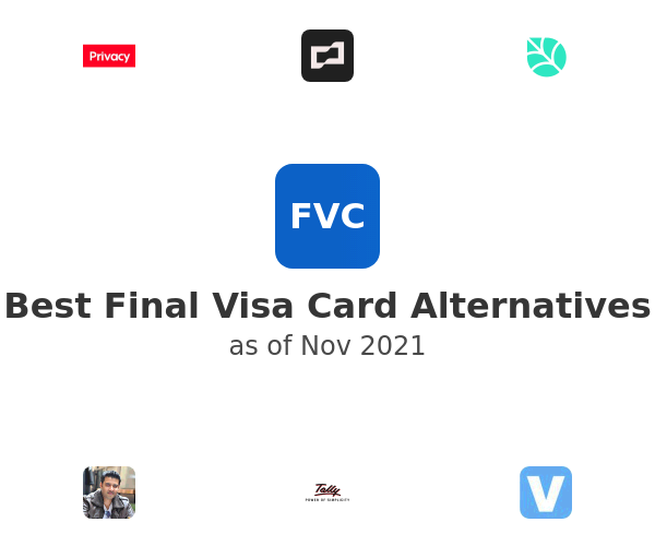 Best Final Alternatives