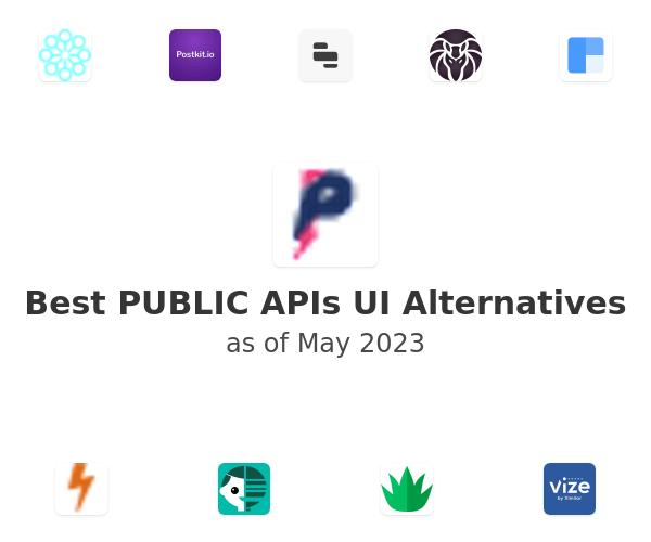 Best PUBLIC APIs UI Alternatives