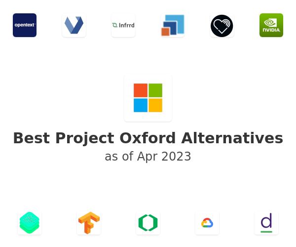 Best Project Oxford Alternatives