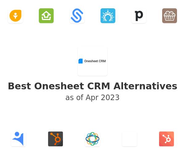 Best Onesheet CRM Alternatives