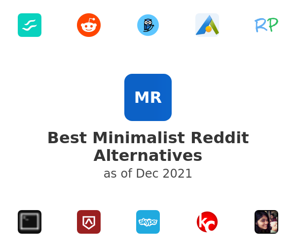 Best Minimalist Reddit Alternatives