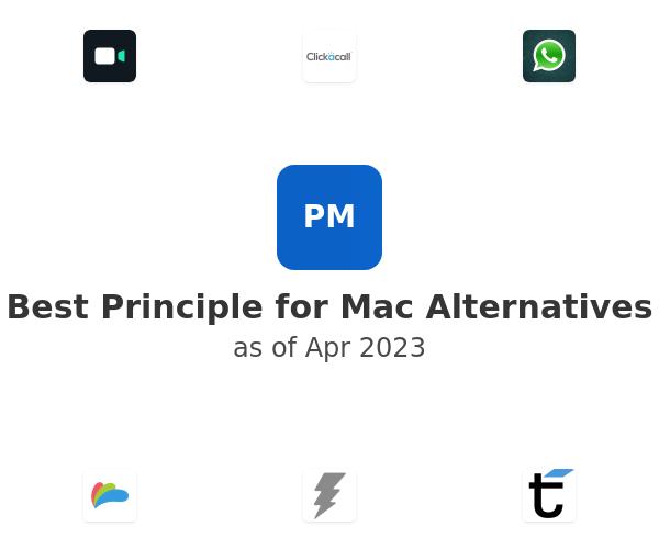 Best Principle for Mac Alternatives
