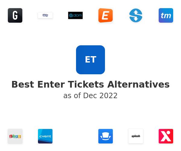 Best Enter Tickets Alternatives