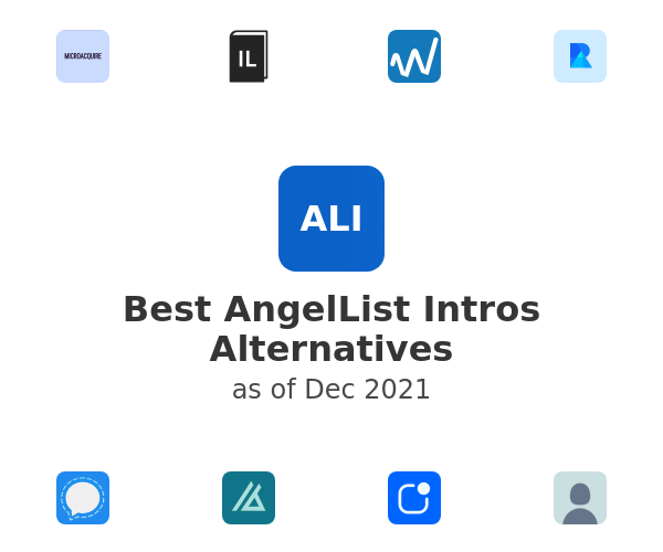 Best AngelList Intros Alternatives