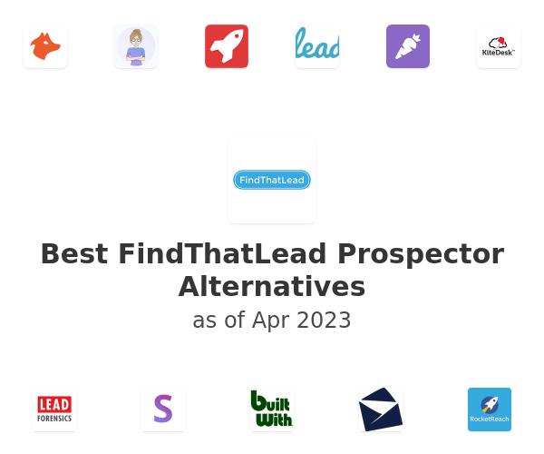 Best FindThatLead Prospector Alternatives