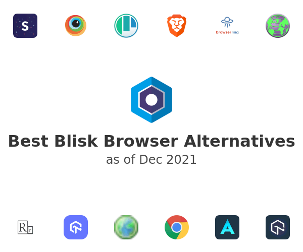 Best Blisk Browser Alternatives