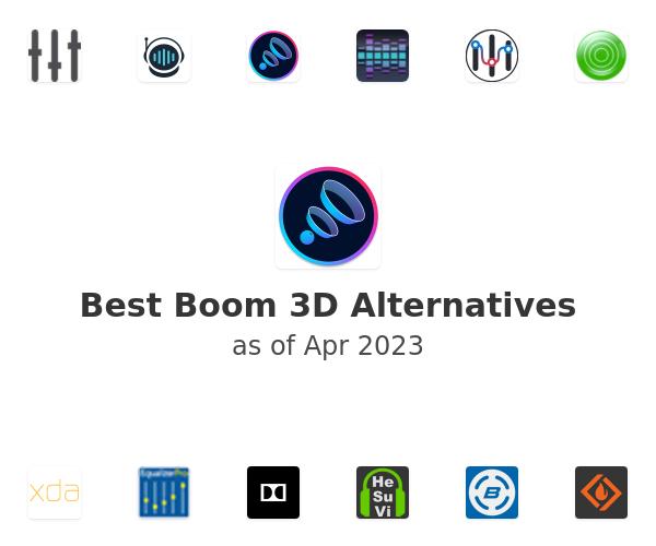 Best Boom 3D Alternatives