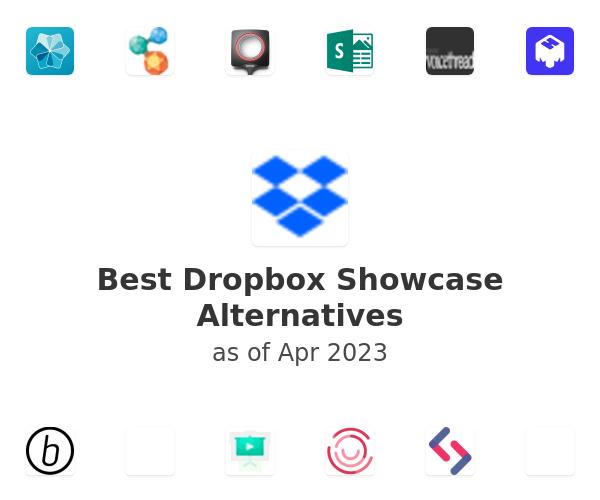 Best Dropbox Showcase Alternatives