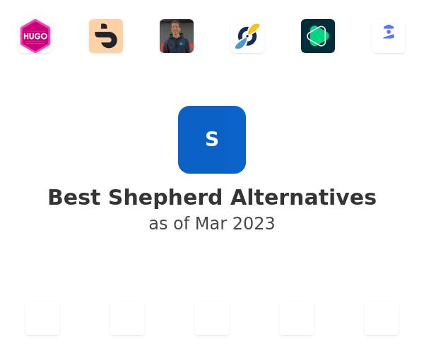 Best Shepherd Alternatives