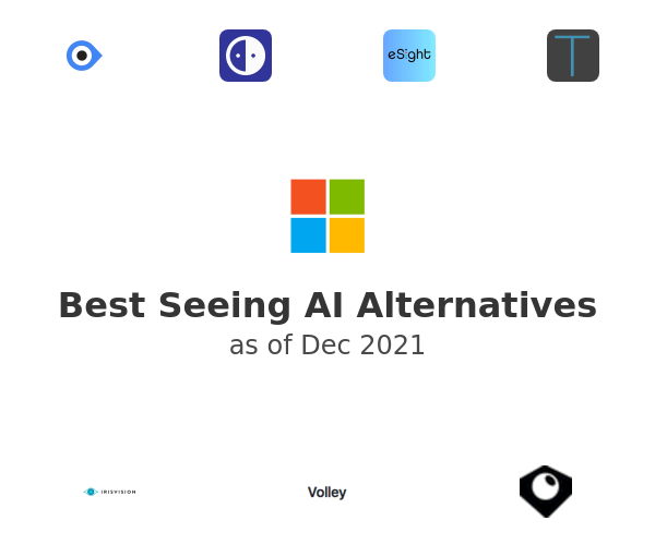 Best Seeing AI Alternatives