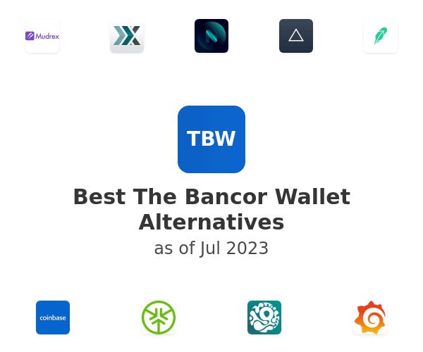 Best The Bancor Wallet Alternatives