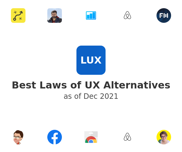 Best Laws of UX Alternatives