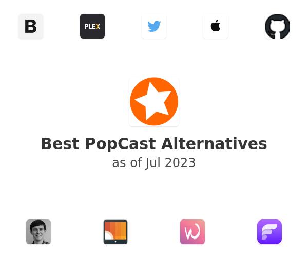 Best PopCast Alternatives