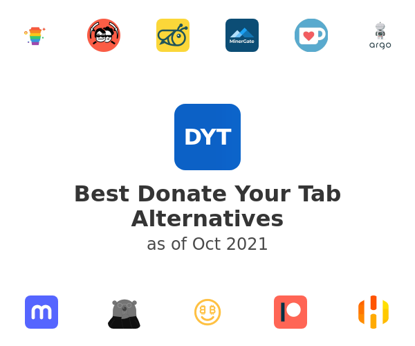 Best Donate Your Tab Alternatives