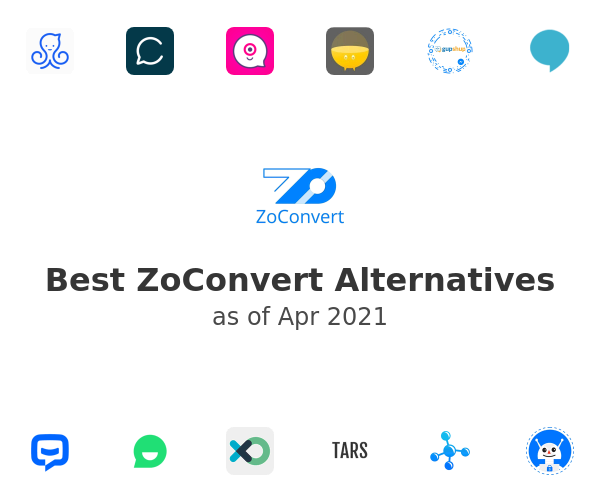 Best ZoConvert Alternatives