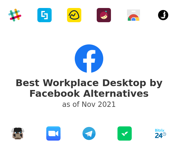 Best Workplace Desktop by Facebook Alternatives