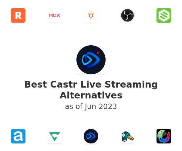 Best Castr Live Streaming Alternatives