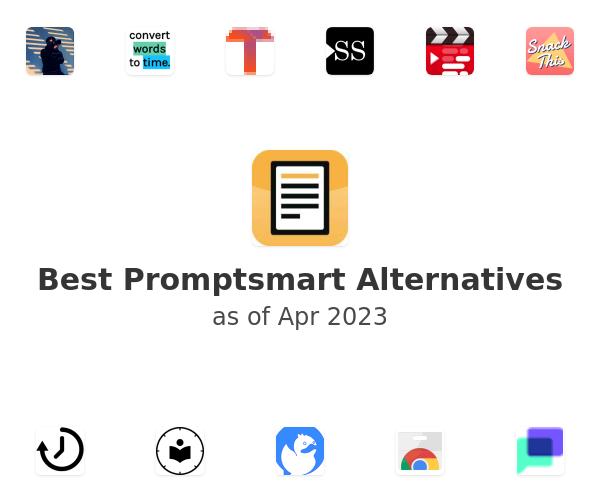 Best Promptsmart Alternatives