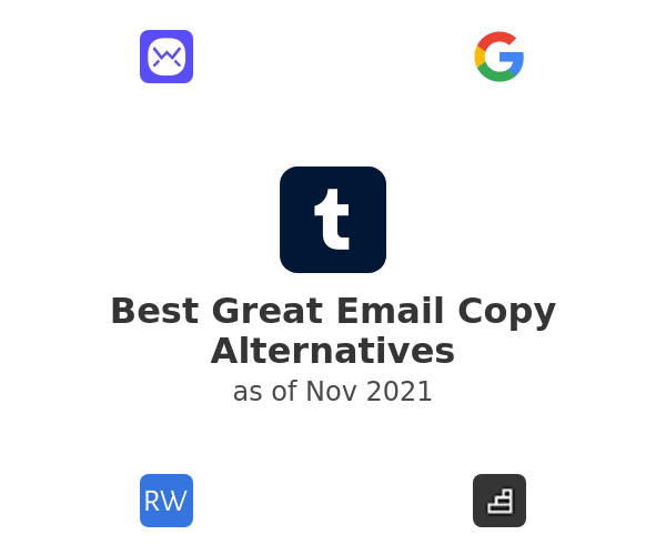 Best Great Email Copy Alternatives