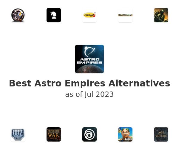 Best Astro Empires Alternatives