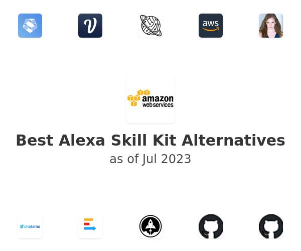 Best Alexa Skill Kit Alternatives