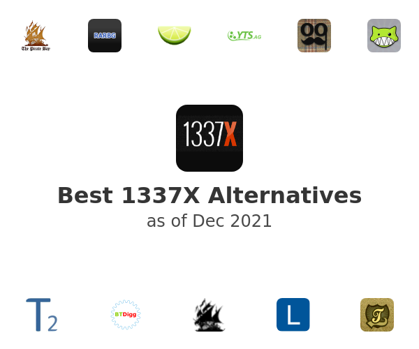 Best 1337X Alternatives