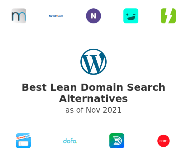 Best Lean Domain Search Alternatives