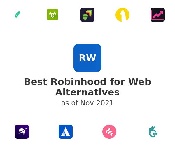 Best Robinhood for Web Alternatives