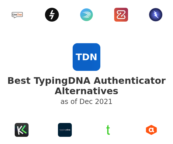 Best TypingDNA Authenticator Alternatives