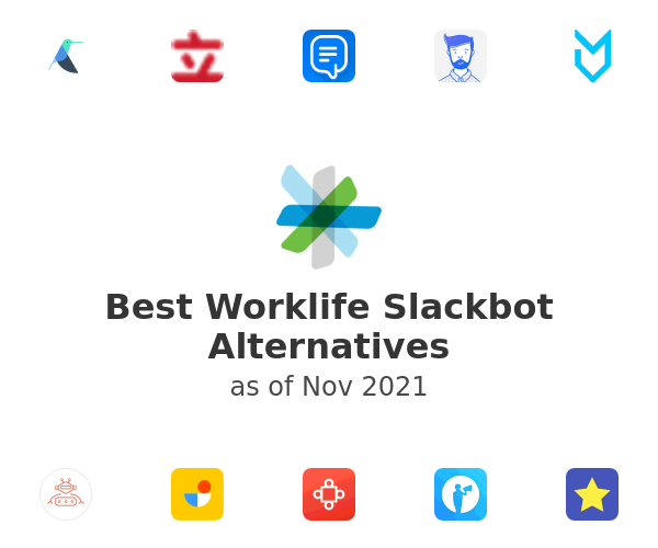 Best Worklife Slackbot Alternatives