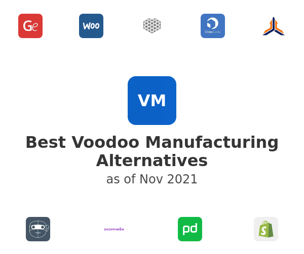 Best Voodoo Manufacturing Alternatives