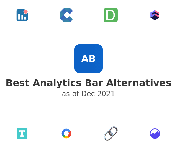 Best Analytics Bar Alternatives