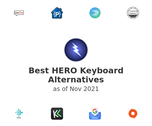 Best HERO Keyboard Alternatives