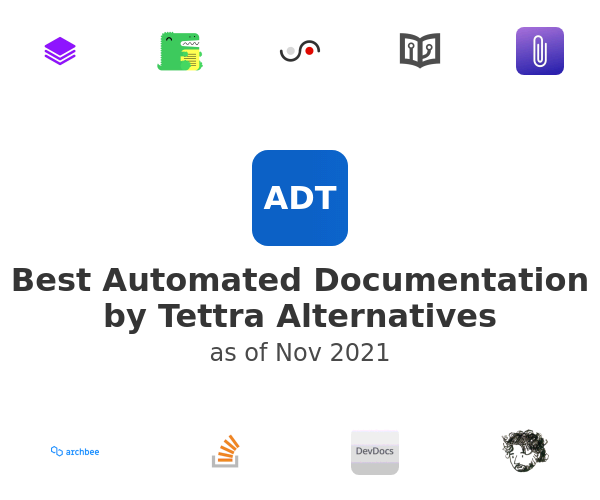 Best Automated Documentation by Tettra Alternatives