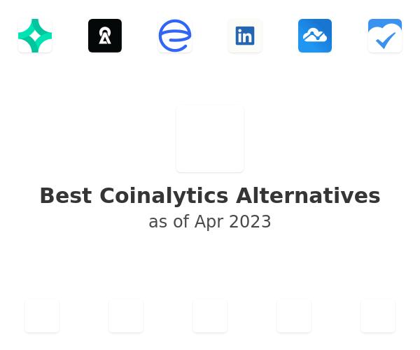 Best Coinalytics Alternatives