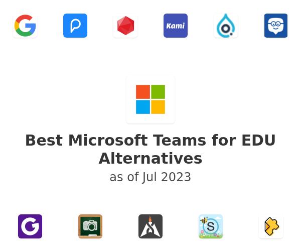 Best Microsoft Teams for EDU Alternatives
