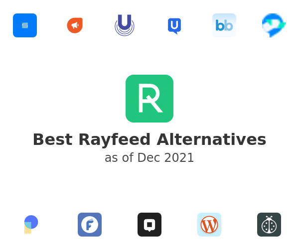 Best Rayfeed Alternatives