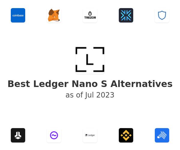 Best Ledger Nano S Alternatives
