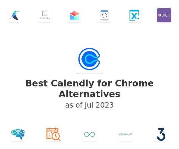 Best Calendly for Chrome Alternatives