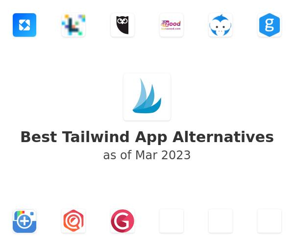 Best Tailwind App Alternatives