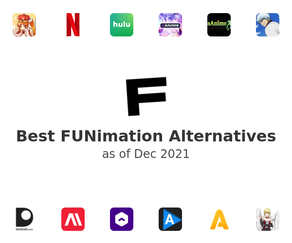 Best FUNimation Alternatives
